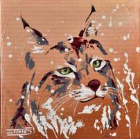 Loup-cervier by JessicaSansiquet