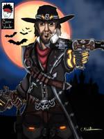 McCree Van Helsing by Boy-Wonder-Arts