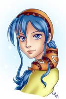 Lunar Silver Star Story - Luna by TheCatlady