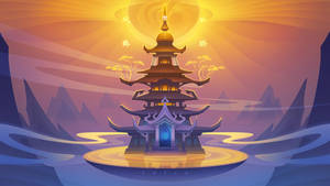 Oracle--The Sacred Pagoda by phomax