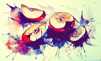 Apples by obscene-bunny