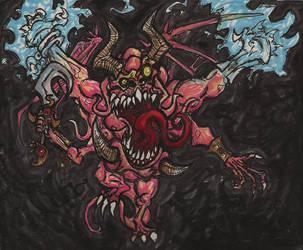 Crazy Mr.Fleshshaper by KrewL-RaiN
