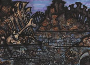 River of Bones by KrewL-RaiN