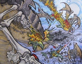 Warhammer 40K: Birds of Prey by KrewL-RaiN