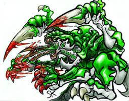 Genestealer by KrewL-RaiN