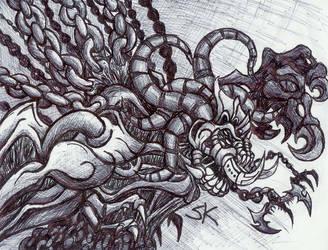 Chain Monster Thinger by KrewL-RaiN