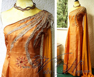 Elia Martell gown Game of Thrones cosplay costume by Volto-Nero-Costumes