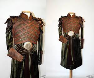 Mirkwood Elf Armor Tunic, The Hobbit Costume by Volto-Nero-Costumes