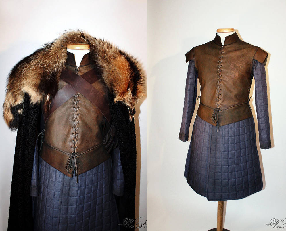 Lord Eddard Stark Game of Thrones Ned Costume by Volto-Nero-Costumes
