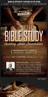 Bible Study Church Flyer Photoshop Template by Godserv
