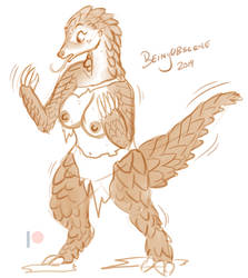 Day of the Pangolin by BeingObscene
