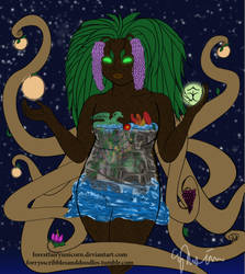 Ent: Deity of Fertility by forestfairyunicorn