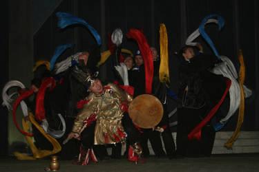 Shamanistic ritual 3 by Printsev