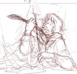 sketch fragment by krysiaida