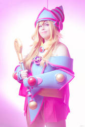 It's Time To Duel! - Dark Magician Girl by GabbyNu