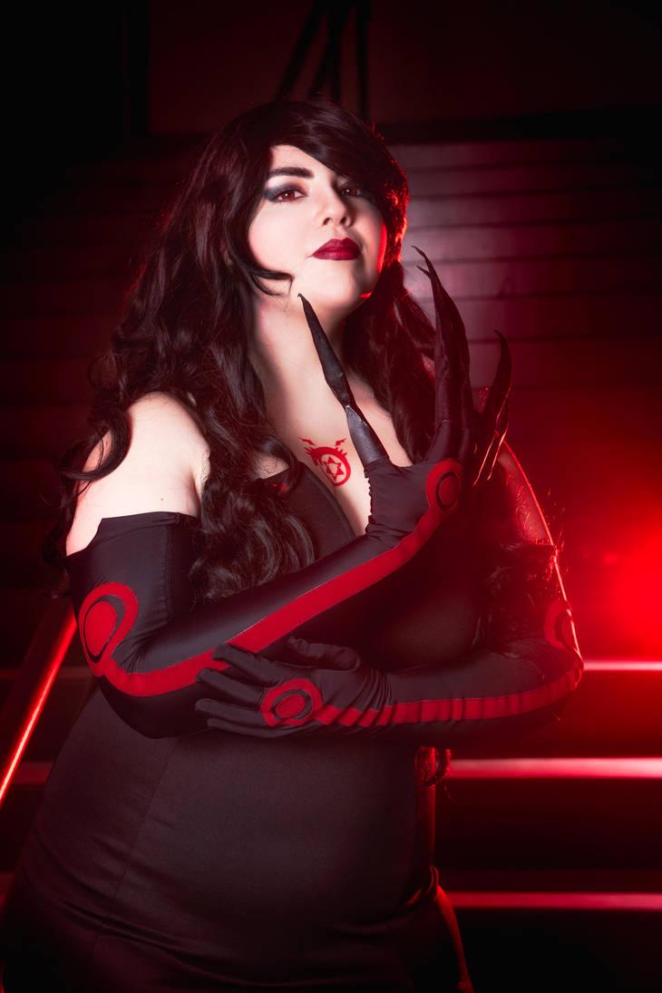 Lust ~ Full Metal Alchemist by GabbyNu