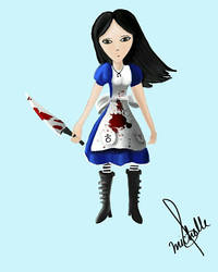 Alice Lidell from Alice Madness Returns  by michbn93