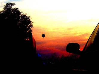 follow the balloon.. by asharpsilence