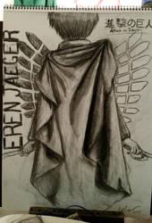 Eren Jaeger by ur-a-baka95