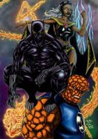 Fantastic Four 2007 by hcaep