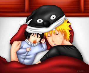 Sharing Dreams by PRoachHeart-Sasuke