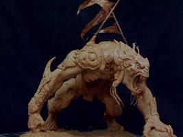 Riddick alien warrior. by DaveGrasso