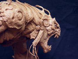 Riddick alien warrior side by DaveGrasso
