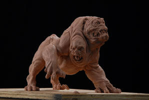 Yrdrig, the three headed dog by DaveGrasso
