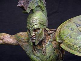 Spartan Mummy closeup by DaveGrasso