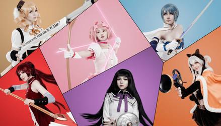 Mahou Shoujo Madoka Magica - cosplay by Apllyker