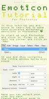 photoshop emoticon tutorial by dutchie17