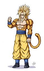 Goku Super Saiyan 5 by Wegons