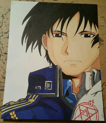 The Flame Alchemist, Roy Mustang  by Aerith-De-Alexandria