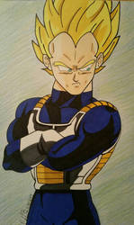 The Mighty Vegeta by Aerith-De-Alexandria
