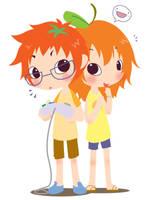 ToMato and OranGe by oranjisama