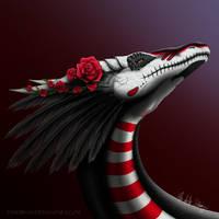 Gift: Dia de los muertos Themed Dragon by PandiiVan