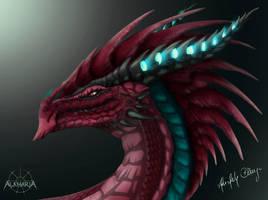 Collaboration: Dragonhead Design. by PandiiVan