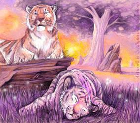 Maternal Devotion by MoonsongWolf