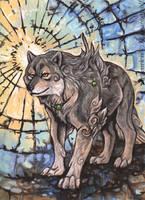 The Sun God's Hound by MoonsongWolf