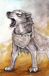 Faithful Beast by MoonsongWolf