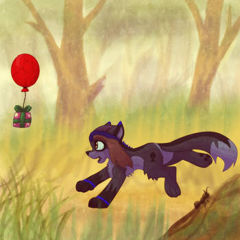 A Present in the Woods by LordSameth