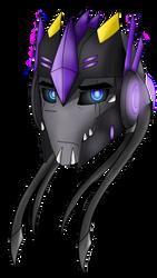 Starburst headshot vector by KrystalBM