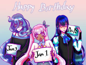 Happy birthday Yuuto Norse Daila by Lizzytheanimegirl300