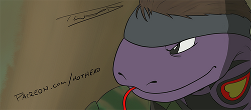 Metal Gear Arbok - Patreon Preview by Big-Red-Hothead