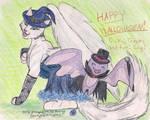 HappyHalloween--Note+Brimys by PoldalleLovesnare