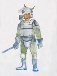 Horse cop2 by arpaci