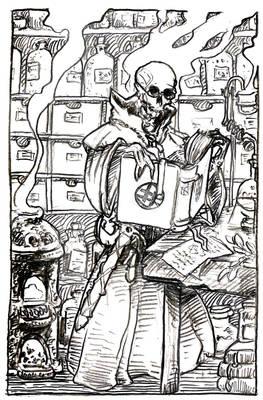 The alchemist that forgot to die