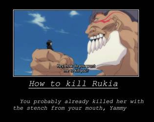 How to kill Rukia by lovely-girl03