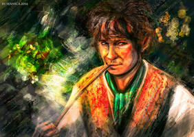 Bilbo Baggins by Seanica