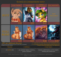 Commission Info - OPEN! by Seanica
